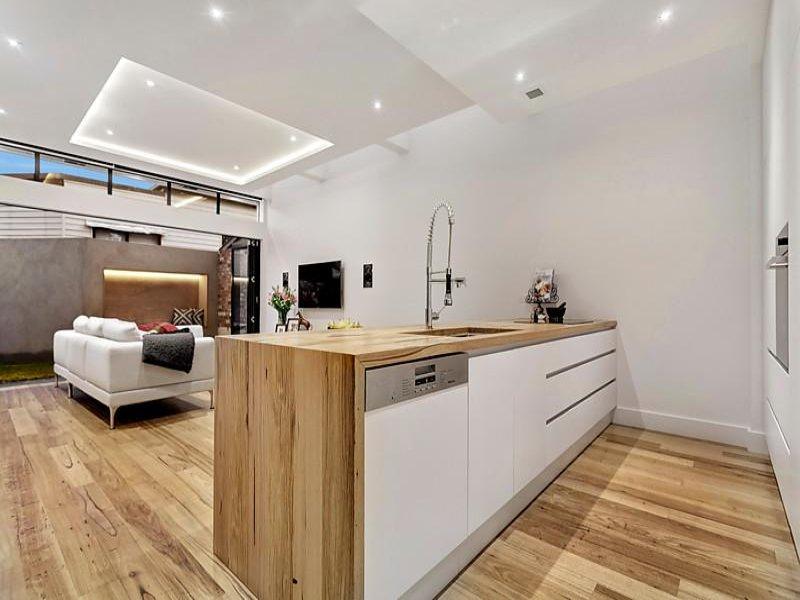 Richmond Industrial style open plan kitchen / living room