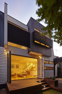 modern double storey house in Yarraville