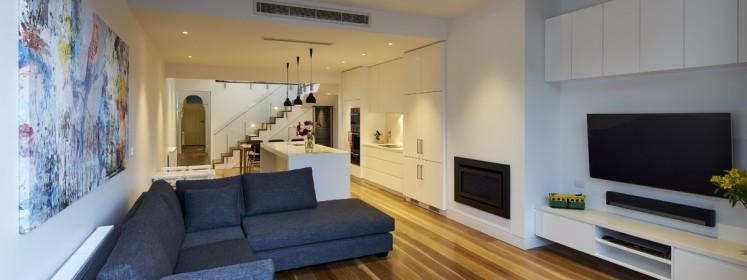 Albert Park - Open Plan Living Area