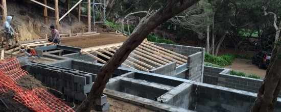 Blairgowrie Beach House Renovation – Steelwork