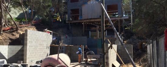 Blairgowrie Beach House Renovation – Blockwork Walls