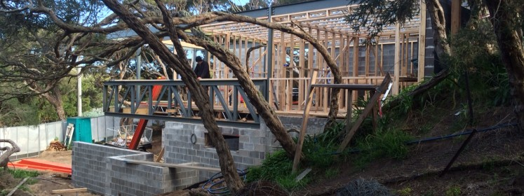 DX Architects' designed Blairgowrie Beach House Renovation, on the Mornington Peninsula
