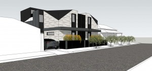 Albert Park Townhouse Development - DX Architects