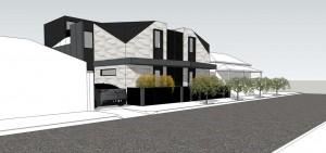 Albert Park Townhouse Development - DX Architects
