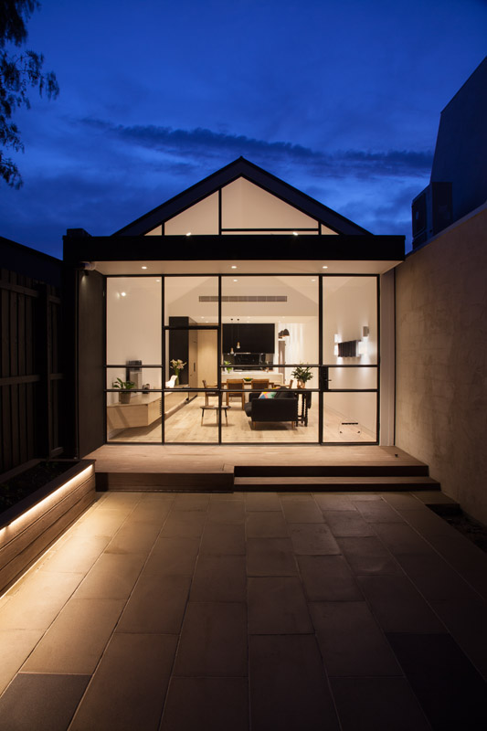Residential Renovation Project Adam Street Burnley DX Architects