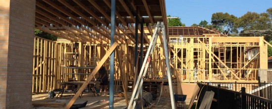 Box Hill South Renovation Project - construction work is progressing well at this Box Hill South residential project.