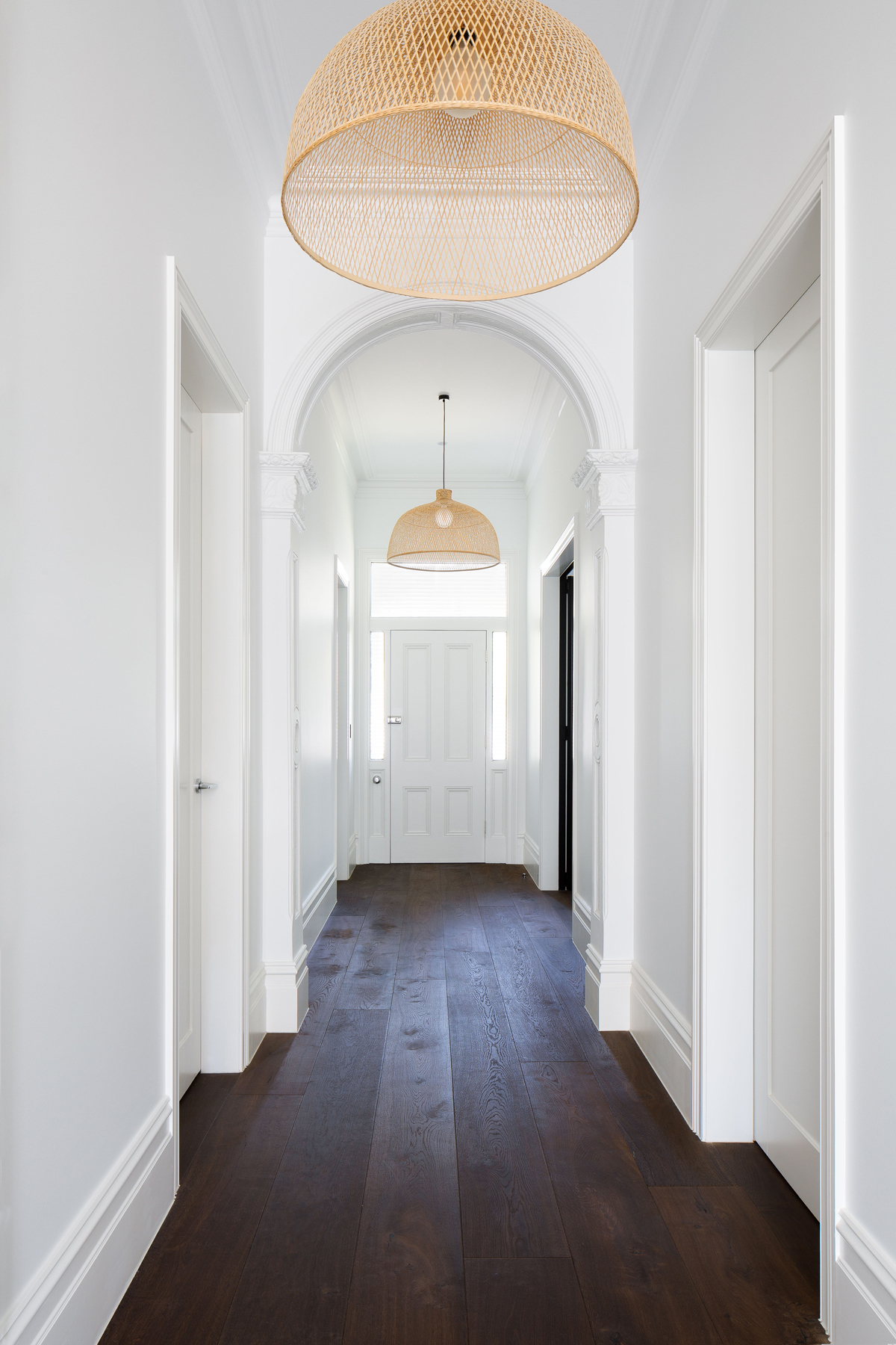 hallway in heritage home